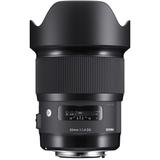 Sigma AF 20mm f/1.4 ART DG HSM Lens- Canon