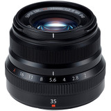 Fuji XF 35mm f/2.0 R WR Lens- Black