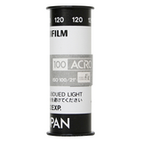 B&W Film Processing- 120mm
