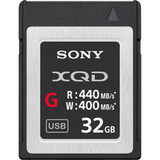 Sony XQD 440mb/s G Series Memory Card- 32GB