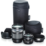 Olympus Travel Kit with 14-150mm & 17mm Lenses