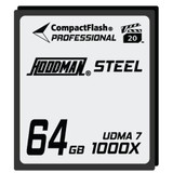 Hoodman Steel 1000x Compact Flash Memory Card- 64gb