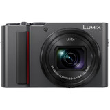 Panasonic Lumix DC-ZS200 Digital Camera- Silver