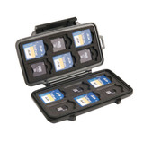 Pelican PC-0915B Water Resistant Memory Card Case SD Cards