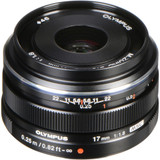Olympus M.Zuiko Digital 17mm f/1.8 Lens- Black