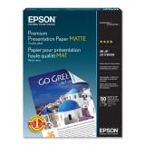 "Epson  8.5"" x 11""  Premium Presentation Matte Double-Sided Paper - 50 Sht."