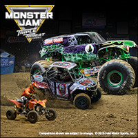 Monster Jam Education Offer - August 25, 2018 at 1:00 and 7:00 PM