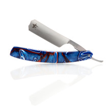 "J2Customs 7/8"" Straight Razor. ""Patriot"""