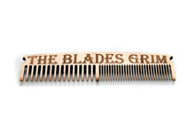 Wooden Beard Comb - By The Blades Grim