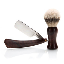 "Harner 6/8"" 'XHP Wedge and Silver Tip Brush Combo"