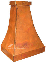 Island Mount Copper Range Hood