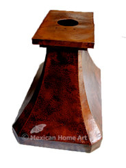 Copper Range Hood Island Mount Copper Restaurant Range Hoods