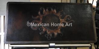 Custom Copper Table Top Copper Counter Copper Tops;Motifs & Designs
