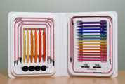 Pink Rainbow Colored Denise Interchangeable Needles