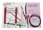 Knitter&#039;s Pride Comby Interchangeable Circular Sampler