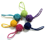 HiyaHiya Yarn Ball Stitch Markers Rainbow (6 pk)