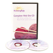 KnittingHelp.com Web Site CD