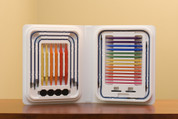 Rainbow Colored Denise Interchangeable Needles