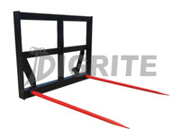 New High Quality Skid Steer Hay Forks