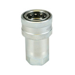 "Hydraulic Poppet Quick Coupling 1/2"" Female"