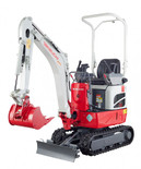 Takeuchi TB210R for hire at Digrite Hire