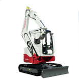 Takeuchi TB138FR for hire at Digrite Hire