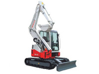 Takeuchi TB153FR for hire at Digrite Hire.