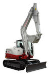 Takeuchi TB285 for hire at Digrite Hire