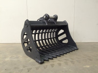 New : Rake Bucket Excavator Attachment for Hire