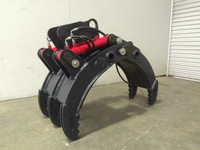 New : 5 Finger Hydraulic Grab Excavator Attachment for Hire