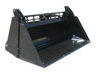 New : 4 in 1 Bucket Skid Steer Track Loader Attachment for Hire
