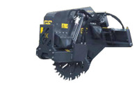 New : Rock Saw Skid Steer Track Loader Attachment for Hire