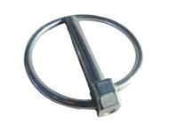 Excavator Bucket Pin - Lock in Flip Clip