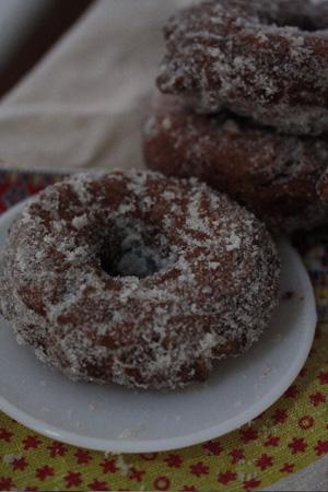 Masala Chai Spiced Donuts