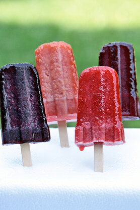 Tea Flavored Popsicles
