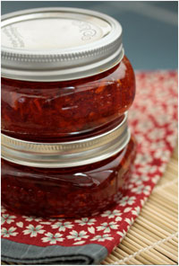 Holiday Spice-y Red Pepper Relish