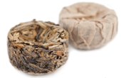 organic ancient green tuo cha pu-erh