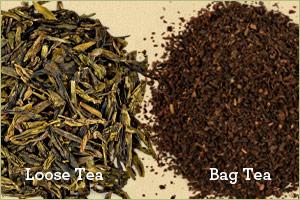 Loose Tea vs Bag Tea