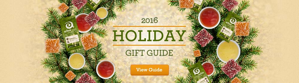 Holiday Gift Guide by Arbor Teas