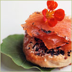 Tea-cured Salmon