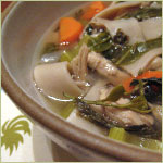 Dragonwell (Green Tea) Chicken Noodle Soup