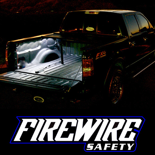 FIREWIRE HD TRUCK BED LIGHT KIT IN USE