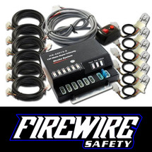 FIREWIRE 120W HIDE AWAY EMERGENCY STROBE LIGHT KIT