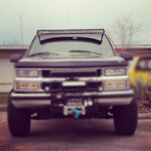 Set yourself apart from others with these Light bar brackets!! Bracket hardware included.