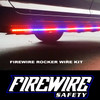 FIREWIRE ROCKER STROBE LIGHTS ARE SLIM LINE AND OUT OF THE WAY. YET VERY VISIBLE WHEN NEEDED.