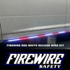 FIREWIRE RED WHITE ROCKER STROBE LIGHTS KIT