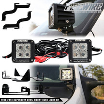1999-2007 Ford Superduty Cowl Mount Cube Light Kit