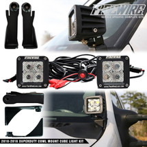 2011-2016 Ford Superduty Cowl Mount Cube Light Kit
