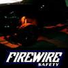 ORANGE FIREWIRE LED MINI ROCK LIGHT KIT IN ACTION ON A TRUCK