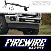 2011-2016 SUPERDUTY 20 INCH BUMPER BRACKET PRODUCT PHOTO AND INSTALLATION PHOTO